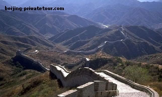 Badaling Great Wall & Underground Palace (Dingling - Ming Tombs) Day Tour